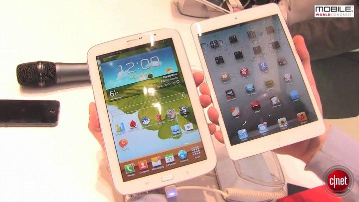 MWC 2013 : Samsung Galaxy Note 8.0
