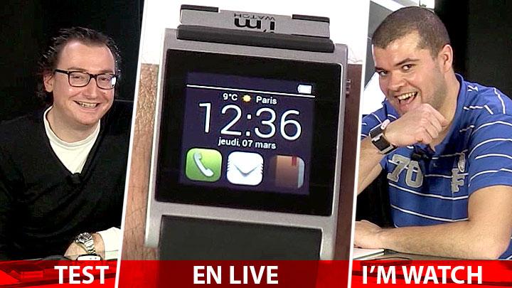 Test I'm Watch : la montre (dé)connectée