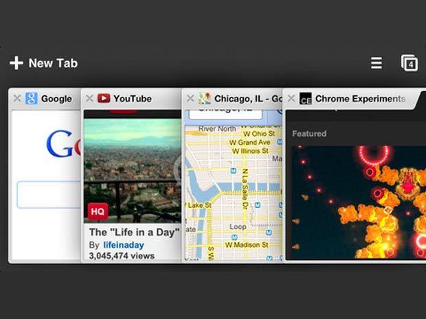 Chrome mis à jour en version 26 pour iOS