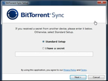 Bittorrent Sync: service de stockage en mode peer to peer
