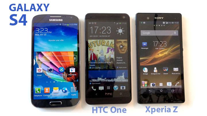 Galaxy S4 vs Galaxy S3, premières impressions