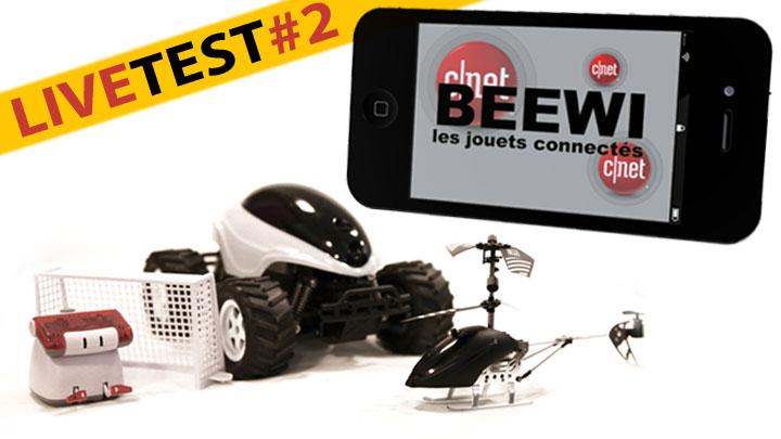 Test BeeWi : hélico, voiture et joueur de foot connectés au smartphone