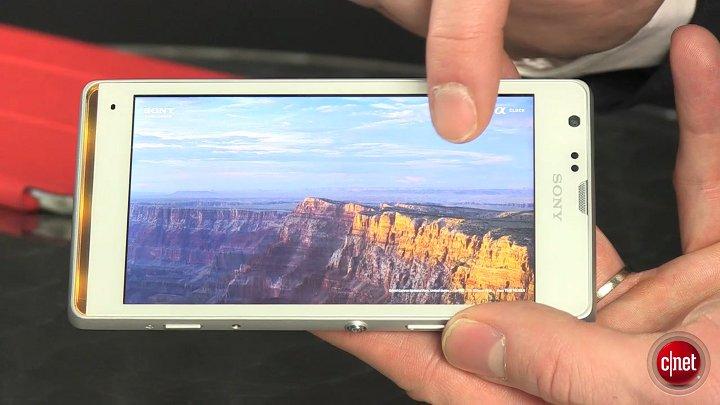 Sony Xperia SP, prise en main