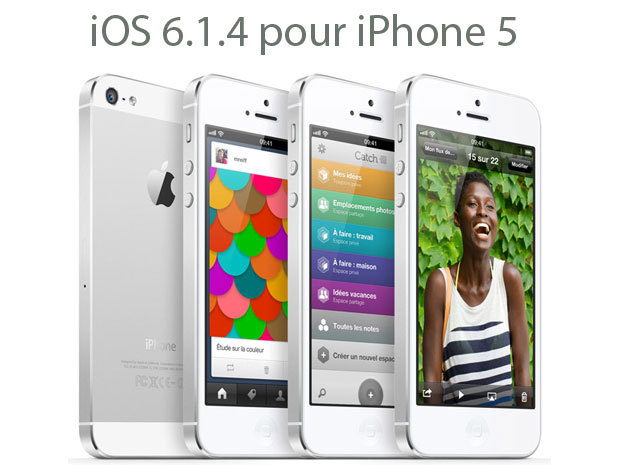 iOS 6.1.4 : une mise à jour réservée à l'iPhone 5