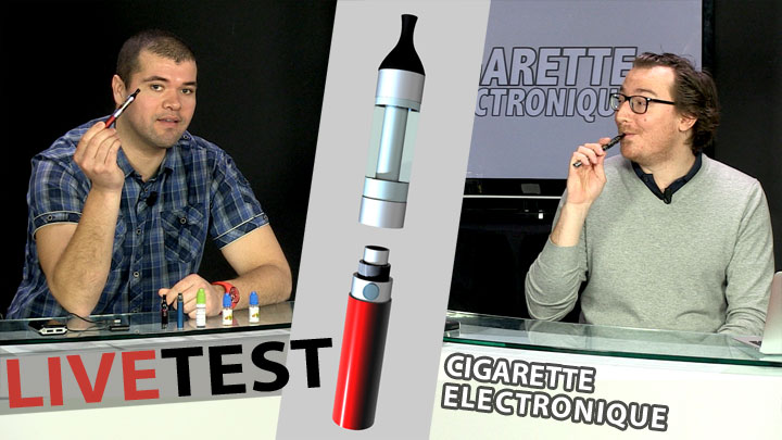 La cigarette électronique en LiveTest !