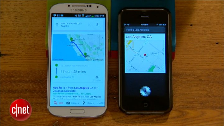 Google Now, Siri : le duel
