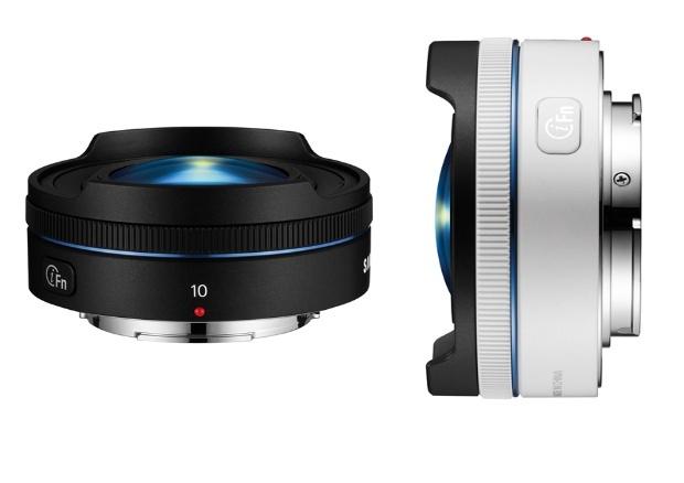 Samsung sort un objectif Fish-eye compact pour ses appareils photo NX