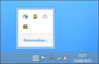 icône zone de notification