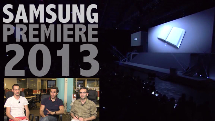 Samsung Premiere 2013 : résumé des annonces produits