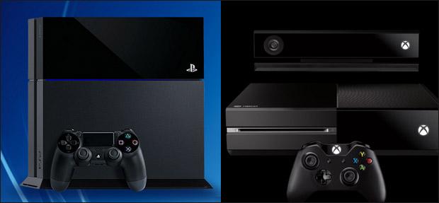 Consoles PS4 et Xbox One
