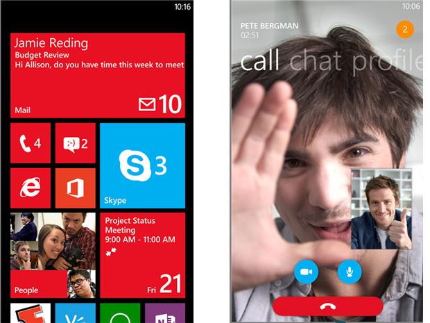 Skype mis à jour pour mieux fonctionner sur Windows Phone 8