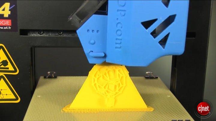 L'imprimante 3D Easy 120 d'a4 Technologie}