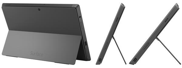 Pied et ds de la tablette Surface Pro 2