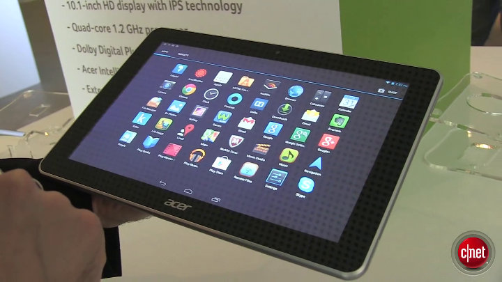 Acer Iconia A3 : tablette low cost : IFA 2013}