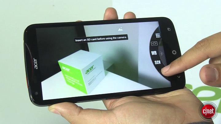 Acer Liquid S2 : Smartphone 6 pouces : IFA 2013}