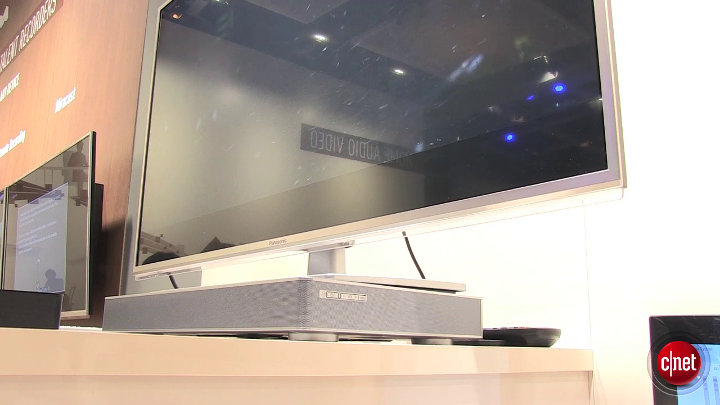 Panasonic SpeakerBoard HTE80 : IFA 2013 }