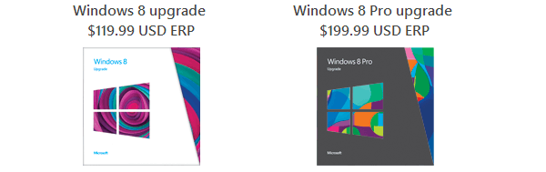 Prix Windows 8.1