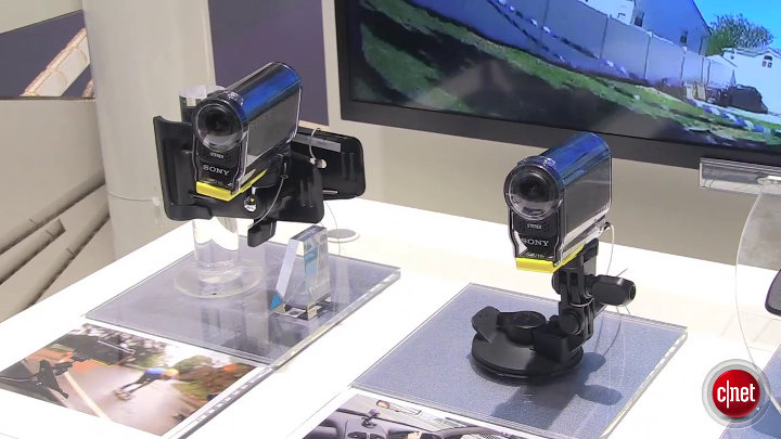Sony Action CAM HDR AS30V : IFA 2013}