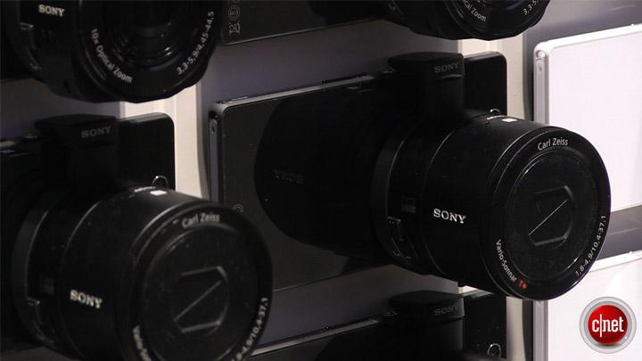 Sony QX10/QX100 : IFA 2013
