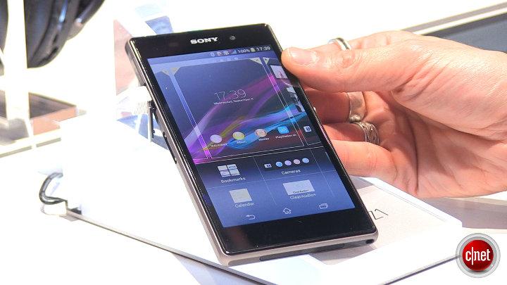Sony Xperia Z1 : IFA 2013