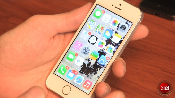 iPhone 5S, le test