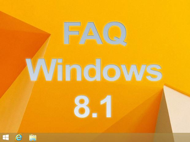 FAQ Windows 8.1 : les réponses à vos questions