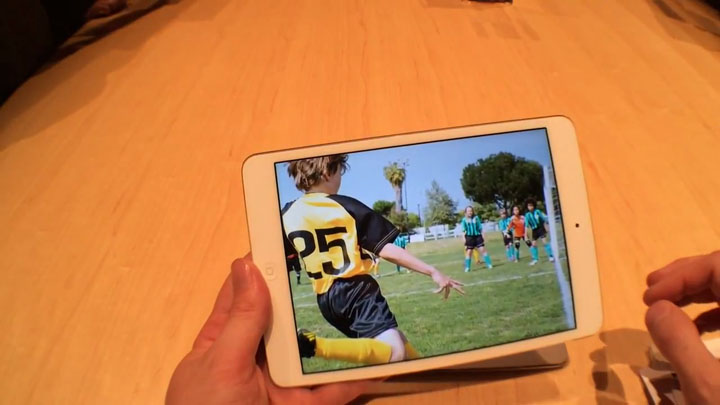 iPad Mini Retina, prise en main