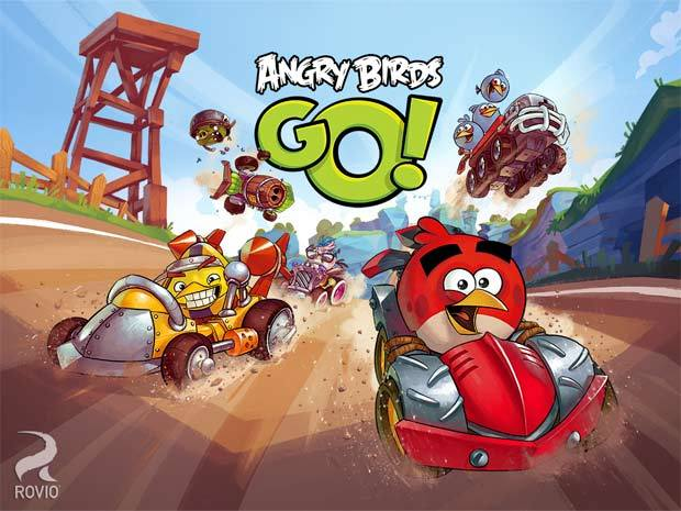 Angry Birds Go ! emmène oiseaux et cochons en karting
