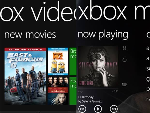 Xbox Video et Xbox Music disponibles pour Windows Phone 8