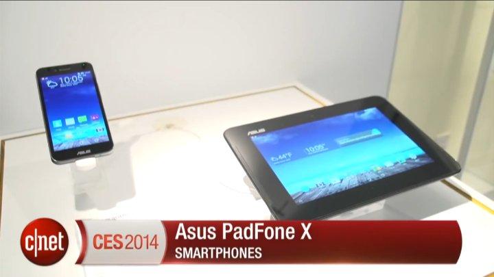 CES 2014 : Asus PadFone X}