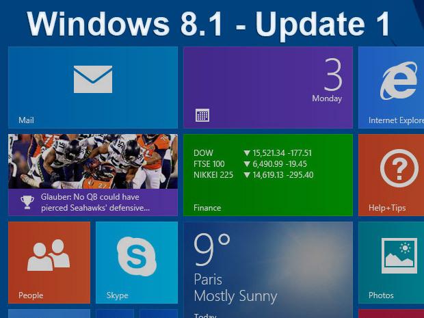 Mise à jour Windows 8.1 : la deuxième couche pour le 9 septembre ?