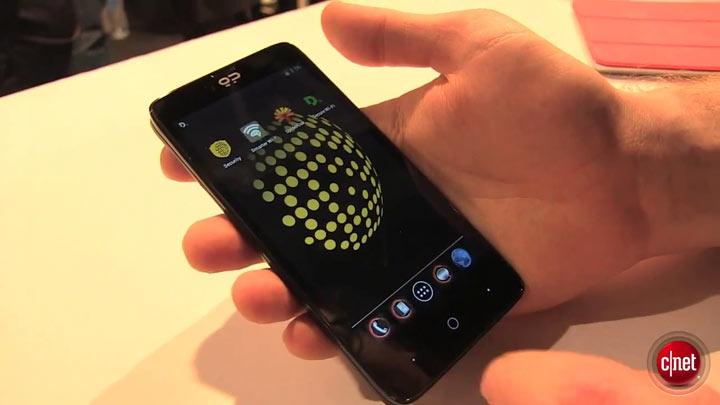 MWC 2014 - Geeksphone Blackphone, le smartphone qui protège la vie privée
