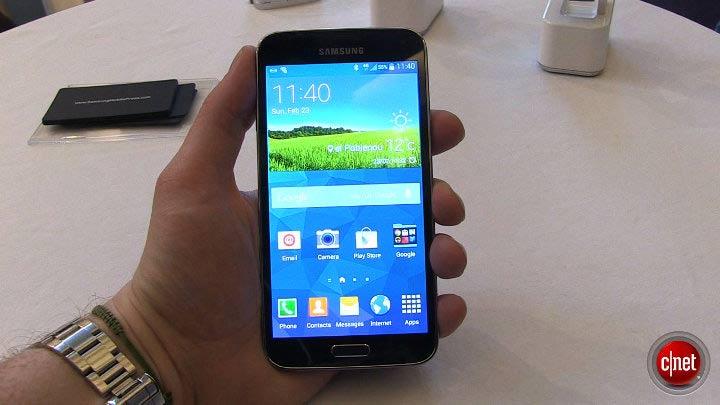 MWC 2014 - Samsung Galaxy S5, prise en main