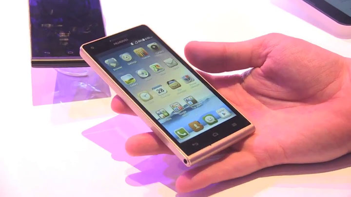 MWC 2014 - Huawei Ascend G6}