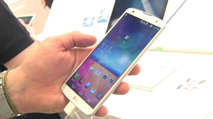 MWC 2014  - LG G Pro 2, la taille et la finesse