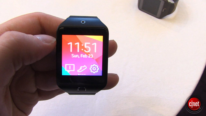 MWC 2014 - Samsung Gear 2 et 2 Lite