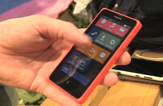 MWC 2014 - Nokia X, un Android aux allures de Windows Phone