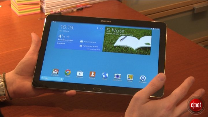 Samsung Galaxy Note Pro 12.2 : prise en main