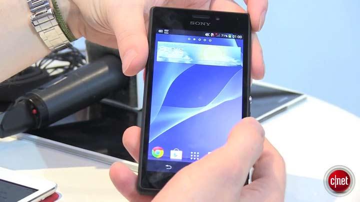 MWC 2014 - Sony Xperia M2