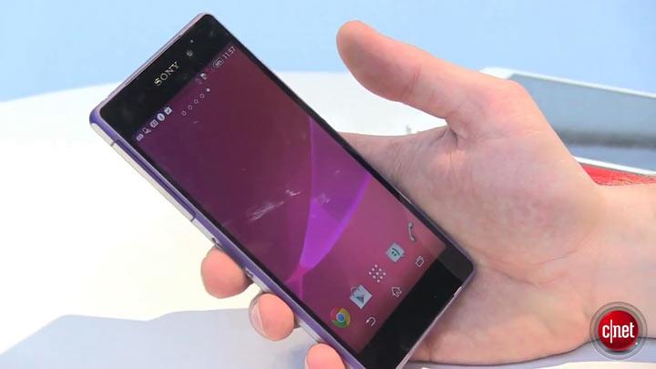 MWC 2014 - Sony Xperia Z2