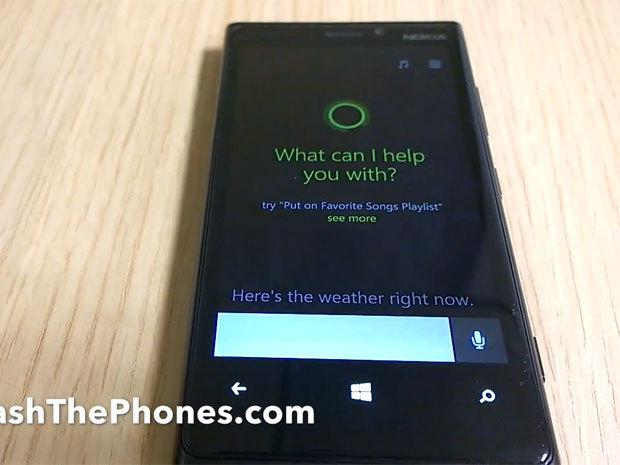 Cortana, le Siri de Windows Phone, apparaît dans une vidéo