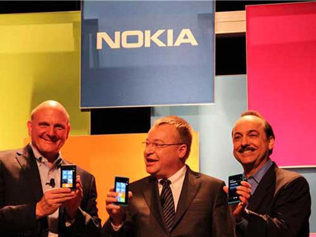 Les ventes de mobiles Nokia / Microsoft en forte baisse