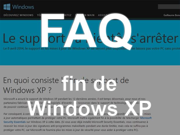 FAQ fin de Windows XP : comment faire face ou changer de système