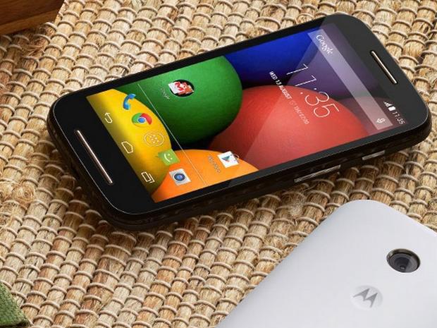 Motorola dévoile le Moto E et une version 4G de son Moto G