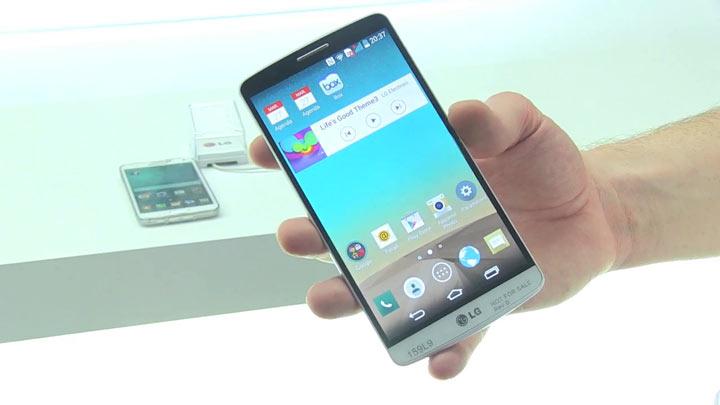 LG G3 : première prise en main vidéo