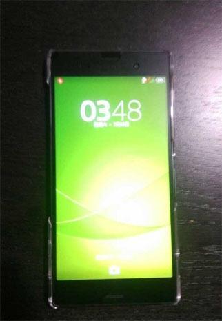 Sony Xperia Z3 Compact écran