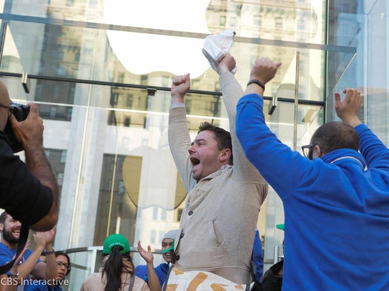 10 millions d'iPhone 6 et 6 Plus vendus le premier week-end : record battu !