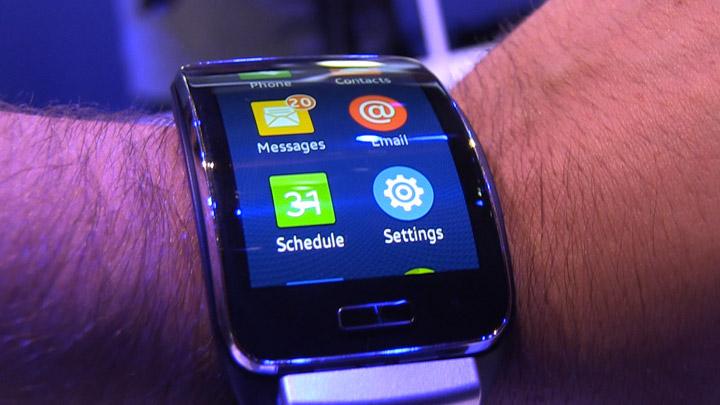 Samsung Gear S: prise en main
