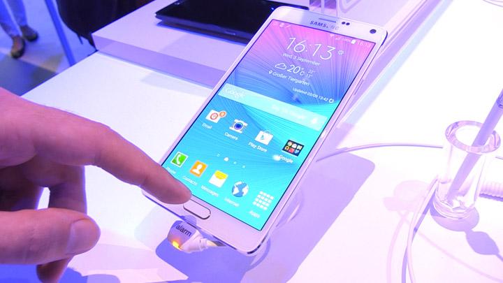 Samsung Galaxy Note 4: la prise en main