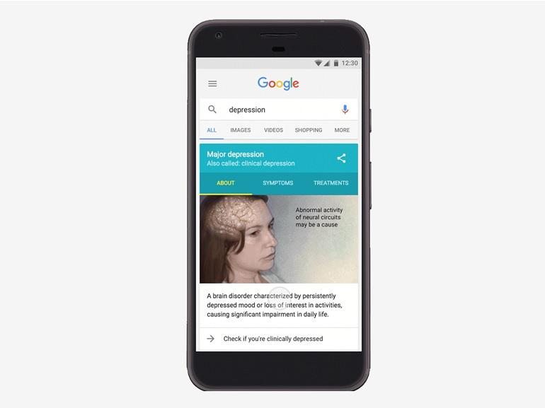 Google noue un partenariat avec une ONG pour diagnostiquer la dépression